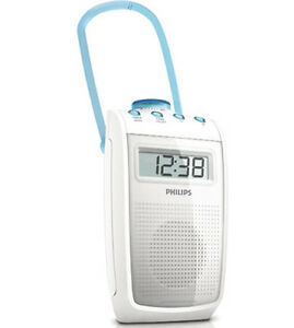 Image Is Loading Philips Ae2330 Bathroom Shower Radio Splash Proof Fm