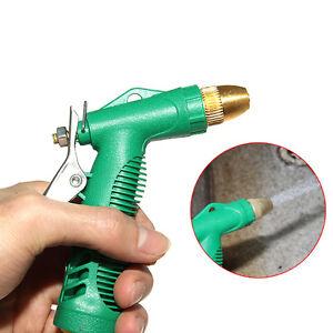 Image is loading High-Pressure-Water-Spray-Gun-Floor-Car-Garden-  sc 1 st  eBay & High Pressure Water Spray Gun Floor Car Garden Brass Nozzle ...