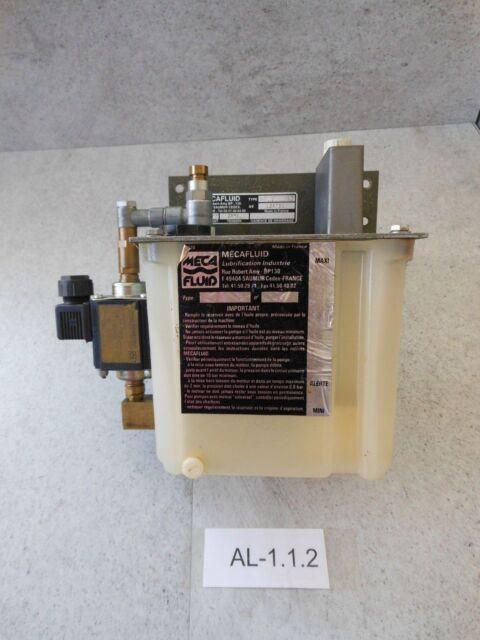 Meca Fluid HZ.2.L.02, Schmierstoffanlage, Pompe A Huile Conteneur, Lubrication