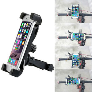 Universal-Motorcycle-Bike-Bicycle-MTB-Handlebar-Mount-Holder-For-Cell-Phone-GPS