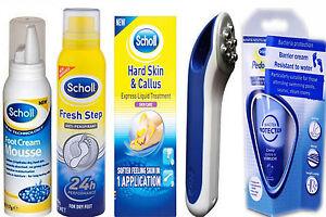 Scholl Foot Hard Skin \u0026 Callus Creams