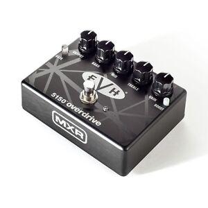 mxr evh 5150 eddie van halen overdrive distortion guitar effects fx pedal ebay. Black Bedroom Furniture Sets. Home Design Ideas