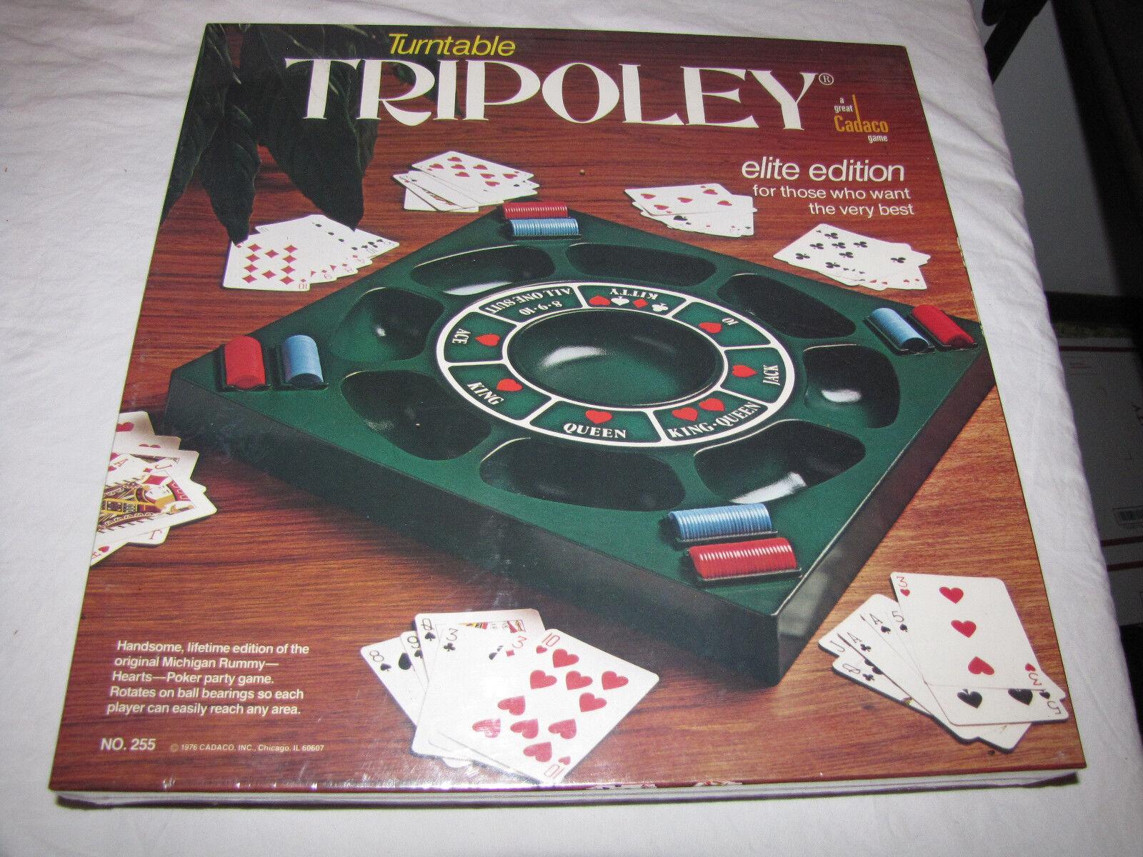 1976 plateau tournant Tripoley par aco-neuf encore scellé-RARE
