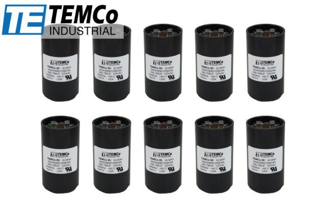 USA 590-708 MFD uF 110-125V Electric Motor Start Capacitor HVAC 125 VAC BMI