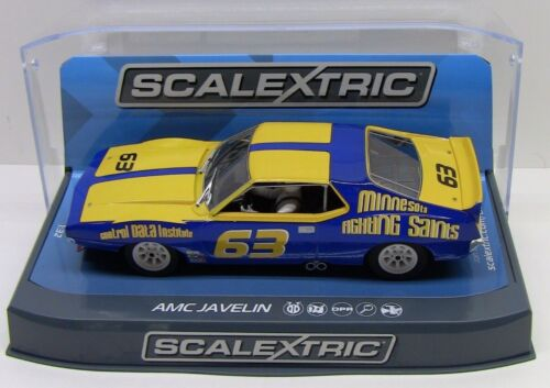 Scalextric AMC JAVELIN TRANS AM JOCKOS RACING 1/32 Slot Car C3876