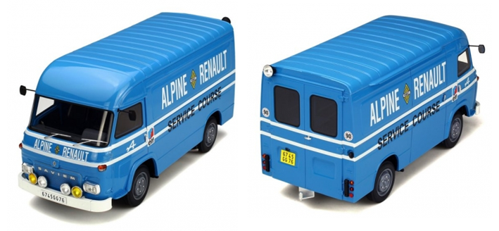 Saviem SB2, assistance Alpine, 1/18ème OTTO neuve, OTTOMODELS, OTTOMOBILE