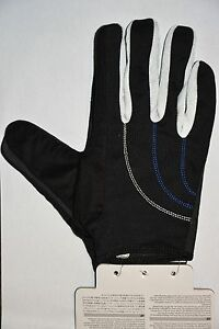 Shimano-All-Mountain-Handschuhe-schwarz-weiss-leichter-Handschuh-mit-Klett