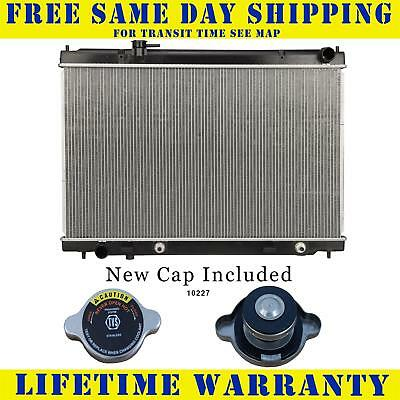Radiator With Cap For Infiniti Fits M35 3.5 V6 6Cyl Has A Filler Neck 2780WC