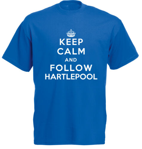 Hartlepool Keep Calm Football T-Shirt