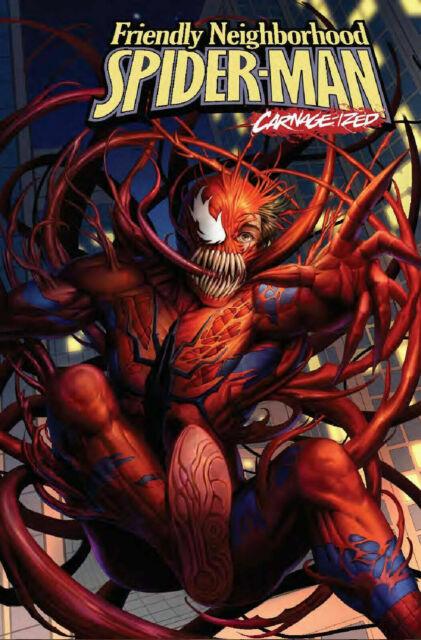 Friendly Neighborhood Spider-man #9 Carnage-ized Marvel Comic 2019 1st Print VF