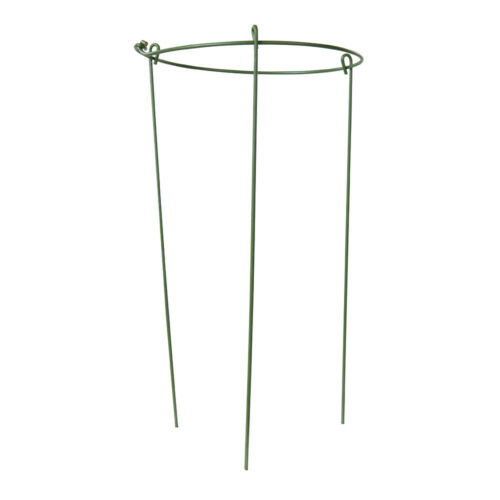180mm Wide Plant Growing Support Frame-Long Stem Flower Climbers Trellis Ring