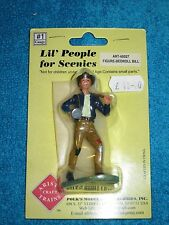 ARISTO-CRAFT LIL' PEOPLE FOR SCENICS #1 - G SCALE BEDROLL BILL MAN ART60027 NEW