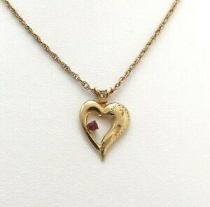 14K Gold Filled Open Heart Charm