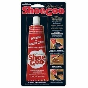 Shoe Goo Leather Repair