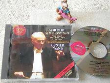GÜNTER WAND NDR SO SCHUBERT Sinfonie Nr. 9 (LIVE HAMBURG) 1992 GER CD RCA TOP