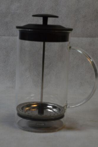 Kaffee Zubereiter 1,0l Drücker Glas//Kunststoff Kaffeebereiter Bereiter NEU//OVP