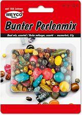 Meyco Bunter Perlenmix 25 Gr. ( 100Gr. 15,88 € ) bunt gemischt in Form und Farbe