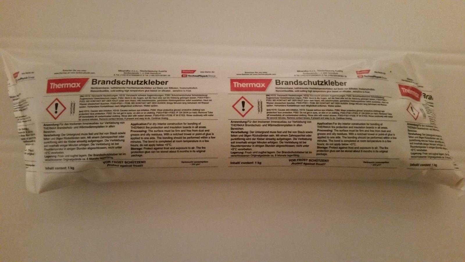 Vermiculite Thermo Kleber 850 g Schlauch Reparatur Kleber