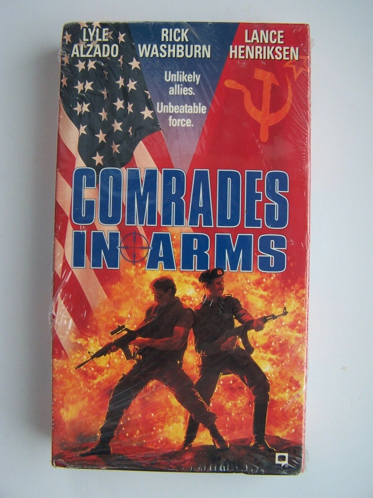 Comrades in Arms VHS Video Tape Lance Henrikson Lyle Al