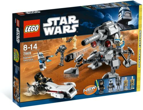 New Sealed Lego 7869 Star Wars Battle For Geonosis Rare Discontinued Set