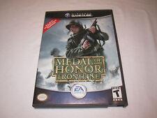 Medal of Honor Frontline (Nintendo GameCube) Original Release Complete Nr Mint!