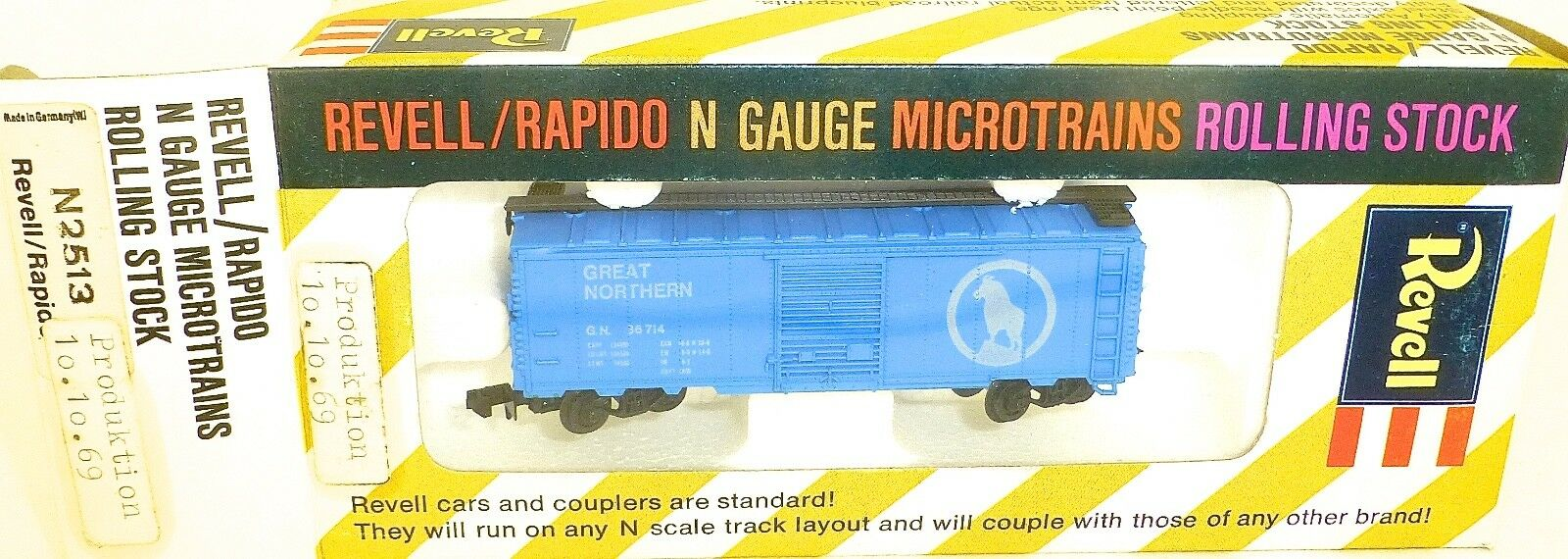 Great Northern 10.10.69 Revell Rapido MicroTrains N-2513 OVP Ht5 Å
