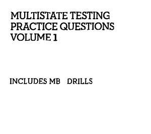 bar examinations
