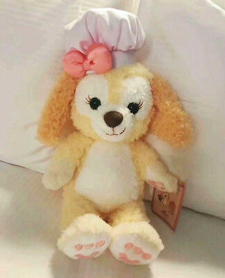 New Japan Sea Duffy Friend Gelatoni Cookie Dog Face Plush Tote Bag So Cute Dog