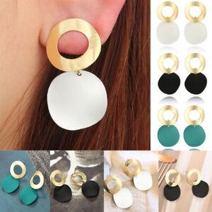 Boho-Geometric-Womens-Lady-Round-Dangle-Drop-Hook-Ear-Stud-Earrings-Jewelry-Gift