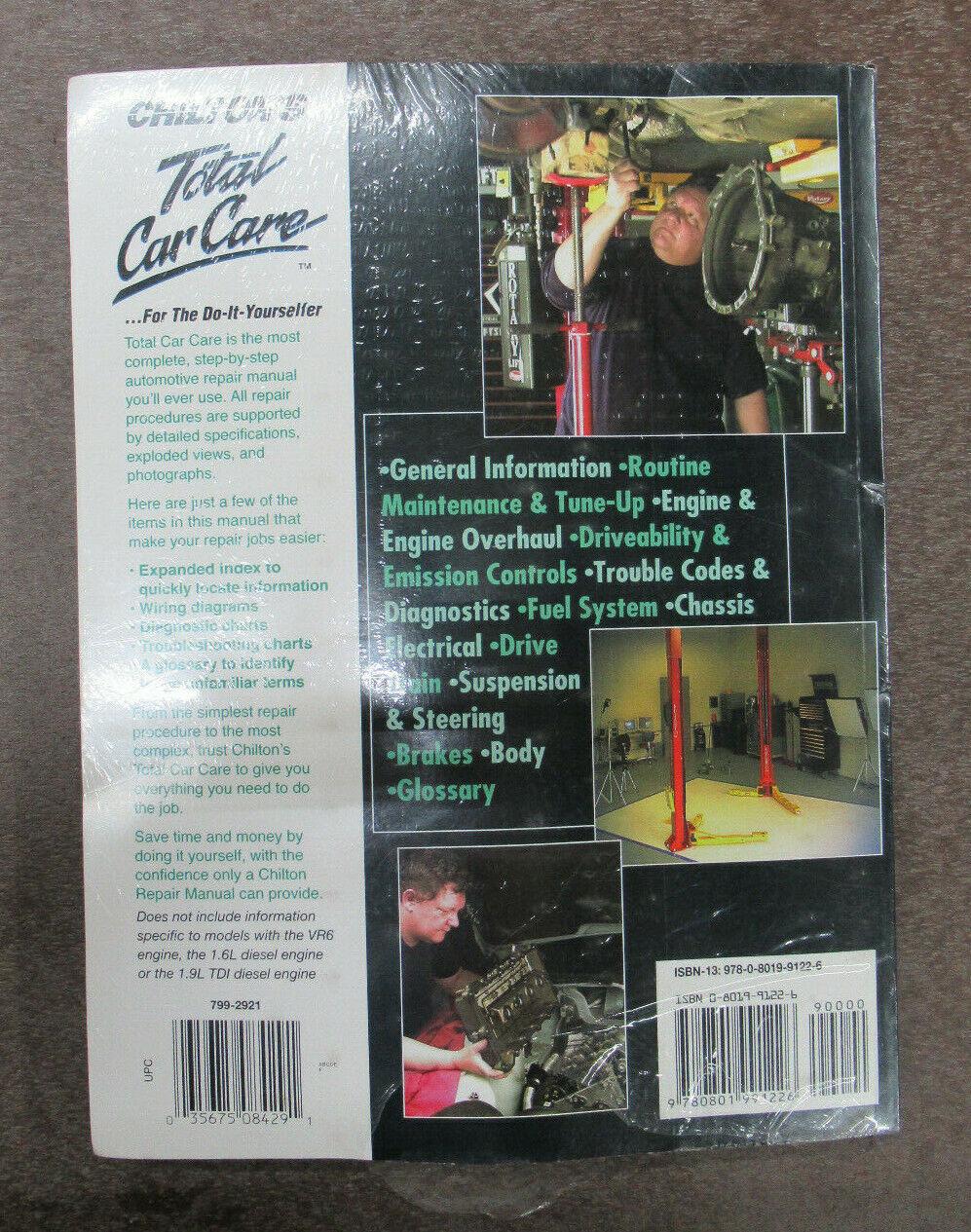 Repair Manual-GL Chilton 70402