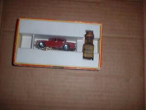 Vintage des années 1960, autoroute Min.15 M.1543 Humber Berline voiture Maroon Scarce Vg / boîte