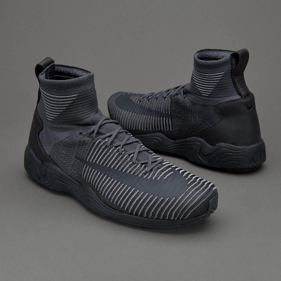 NIKE Zoom Air Mercurial XI Flyknit Herren Sneaker Grau 844626-002 Neu Socke Gr43