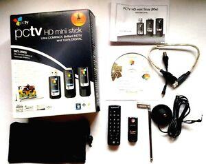 PCTV HD MINI STICK 80E DRIVER WINDOWS XP