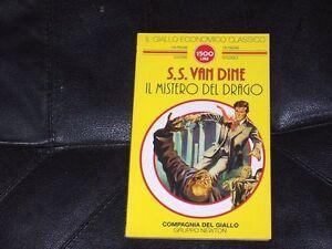 S-S-VAN-DINE-MISTERO-DEL-DRAGO-GIALLO-ECONOMICO-CLASSICO-N-84-NEWTON-1995