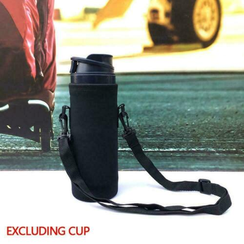 1000ml neoprene water bottle carrier insulated cover bag holder strap Y8Y6