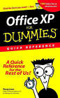 Office XP For Dummies: Quick Reference by Doug Lowe (Paperback, 2001)