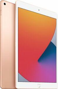 Apple iPad 8th Gen 32GB Gold Wi-Fi MYLC2LL/A (Latest Model)