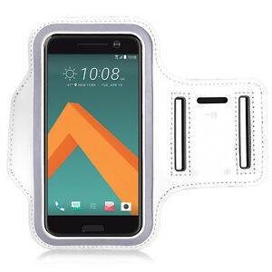 Accessory-Case-Cover-Wallet-Armband-Sport-Armband-white-for-Seri-HTC