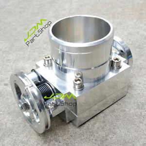 for-Nissan-Skyline-R32-R33-RB25DET-Aluminum-80mm-Intake-Throttle-Body-Universal
