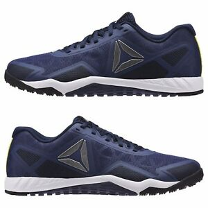 ccb52aef8abb19 REEBOK MENS BLUE SHOES ROS WORKOUT TR 2.0 CROSSFIT TRAINING AR2977 ...