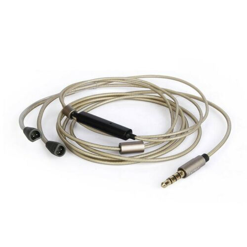 EARMAX Upgrade EarPhone Cable For Sennheiser IE8 IE80 IE8i silver with gd plated