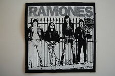 """Ramones Cloth Patch Sew On Badge Adicts Punk Rock Music Approx. 4""""X4"""" (CP42)"""