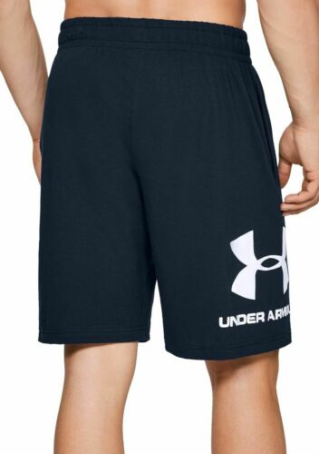 Mens Under Armour Sportstyle Charged Cotton Graphic Shorts XL /& Large NWT