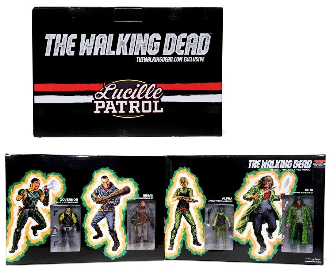 The Walking Dead Comic Lucille Patrol Exclusive Action Figure