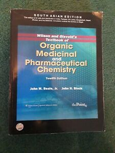 Wilson And Gisvold's Textbook Of Organ, 12E by John M. Be (SOUTH...