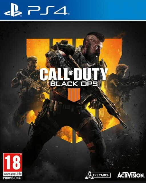 CALL OF DUTY BLACK OPS 4  JEU PS4 NEUF FRANCAIS OFFICIEL