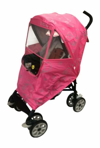 Hippo Collection Universal Stroller All Weather Shield - Pink
