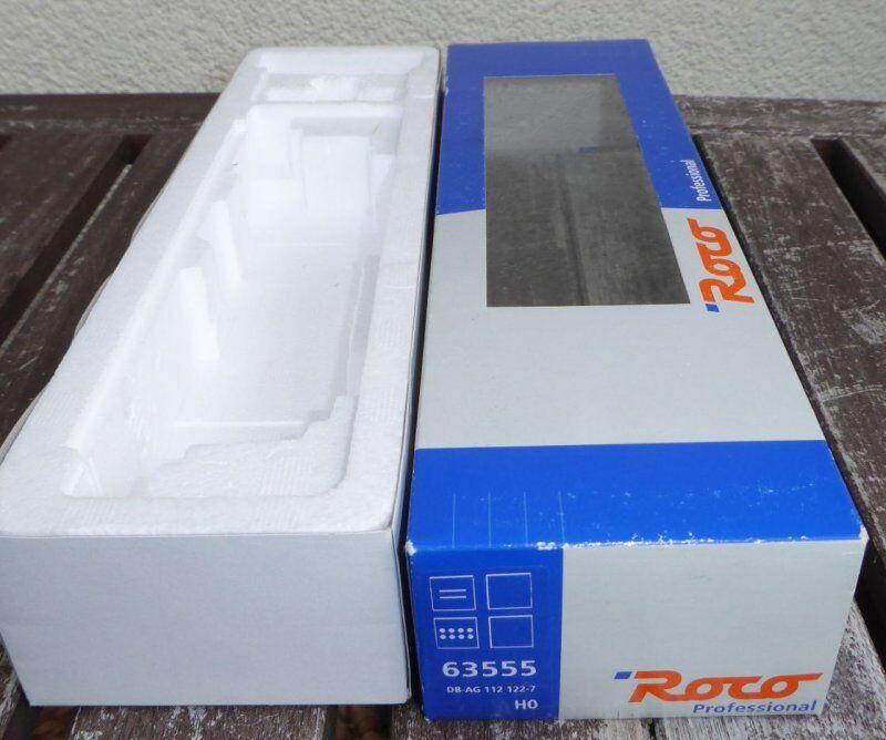 Roco 63555 Envases Vacíos E-Lok Br 112.0-1,143 ,243 Dr + Db,Emb.orig,Box,Caja