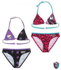 Süß GehäRtet Monster High Mädchen Bikini Gr.128-164 Bikinihose Badeanzug Neu Eine GroßE Auswahl An Waren