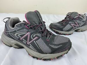 Incorrecto puede fósil  New Balance 411 Women WT411GP2 Gray Pink All Terrain Running Trail Shoes  Size 7B | eBay
